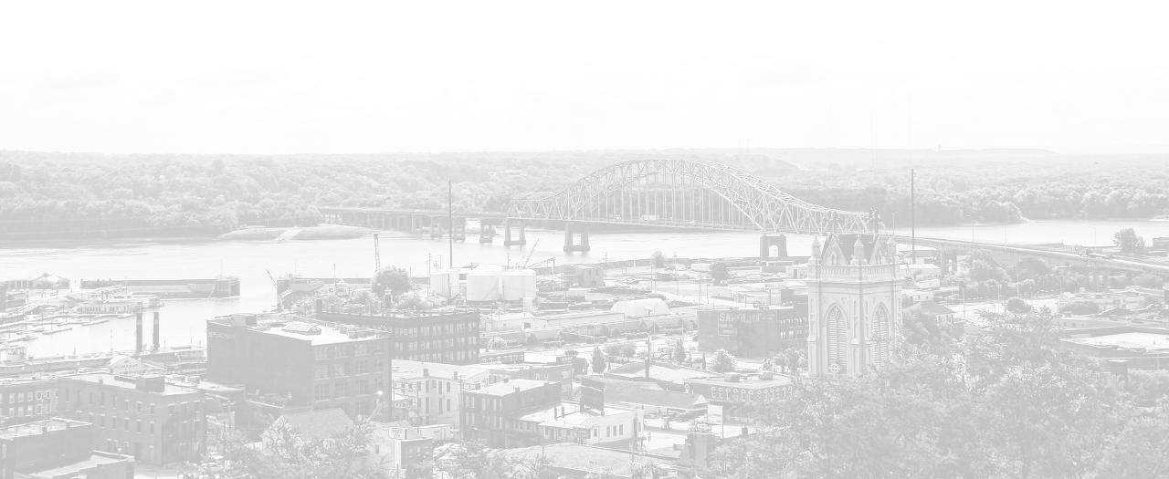 Julien Dubuque Bridge over the Mississippi River